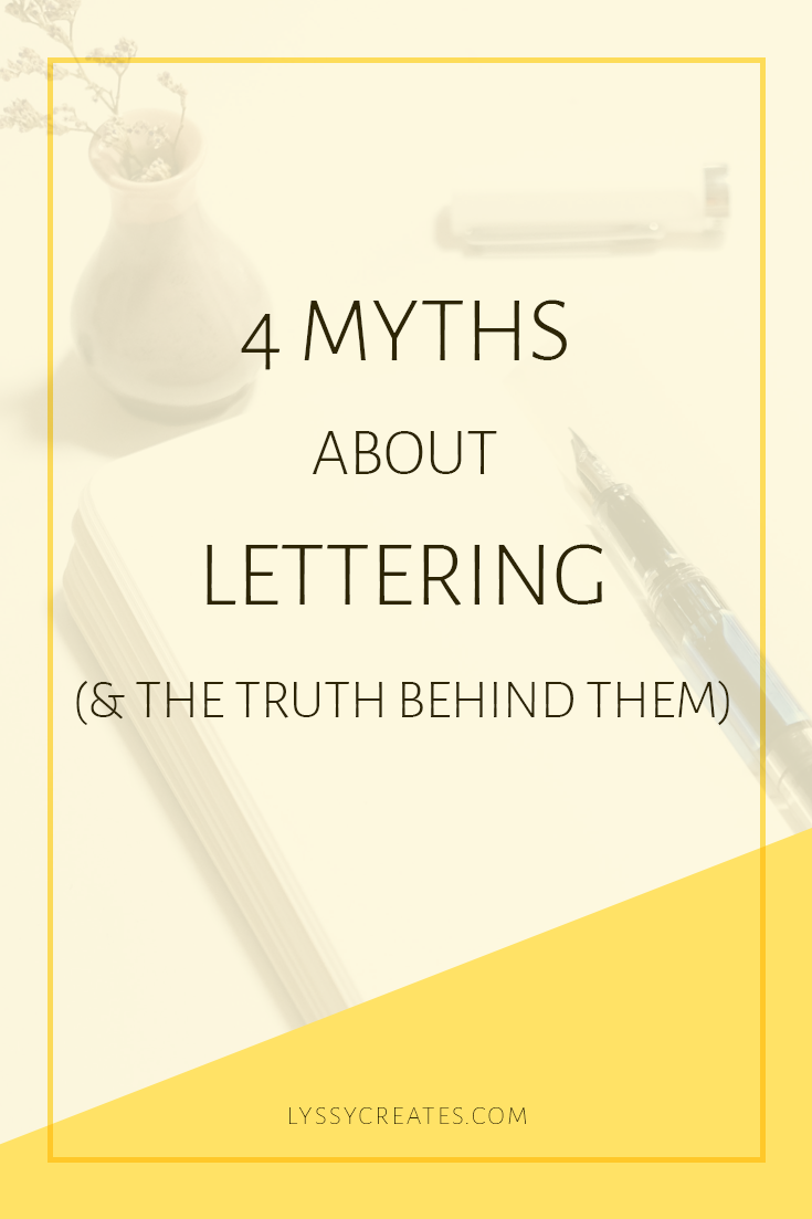 Lettering Myths Debunked
